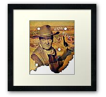 Wanted? Framed Print