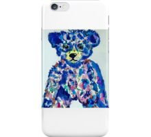 blue bear iPhone Case/Skin