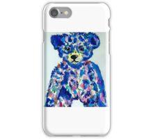 blue bear iPhone Case/Skin