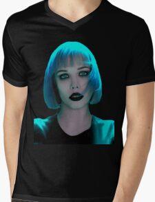 Alice Glass Blue Hair Mens V-Neck T-Shirt