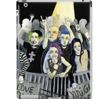 Misfits at a Concert iPad Case/Skin