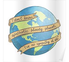 APATHETIC BLOODY PLANET Poster