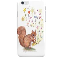 Saxophone Squirrel iPhone Case/Skin