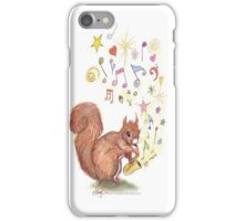 Saxophone Squirrel iPhone Case/Skin