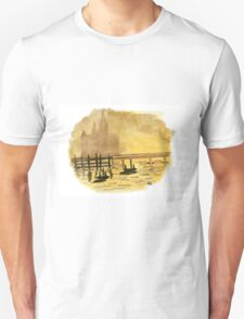 Antique Sunset - Watercolor Painting Unisex T-Shirt