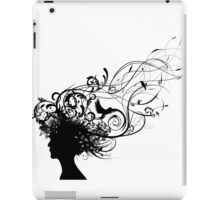 Natural hair iPad Case/Skin