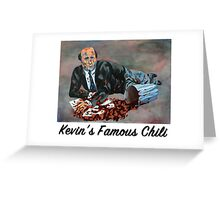 Kevin's Famous Chili - The Office Greeting Card