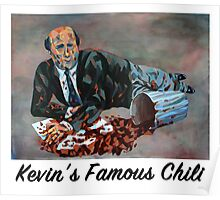 Kevin's Famous Chili - The Office Poster