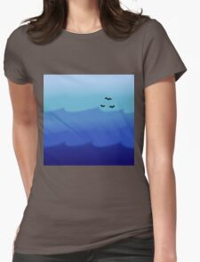 Ocean Gradient Womens Fitted T-Shirt