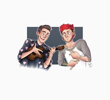 Tyler and Josh - ukulele and drumsticks Unisex T-Shirt