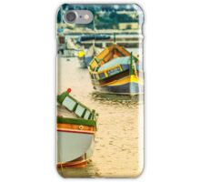 Valletta Boats  iPhone Case/Skin