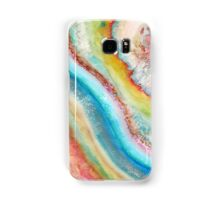 AGATE Inspired Watercolor Abstract 01 Samsung Galaxy Case/Skin