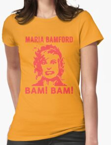 Maria Bamford Womens Fitted T-Shirt