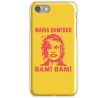 Maria Bamford iPhone Case/Skin