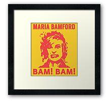 Maria Bamford Framed Print