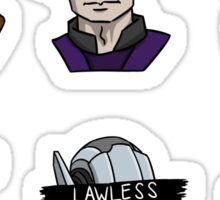 """Redacted - The Shields"" Sticker Set Sticker"
