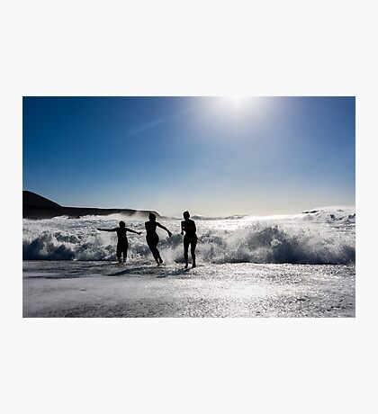 Marine Silhouette Photographic Print