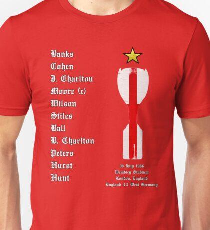 England 1966 World Cup Final Winners, Version 2.0 Unisex T-Shirt