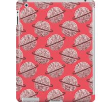 Red Planet Hand Drawn Pattern iPad Case/Skin