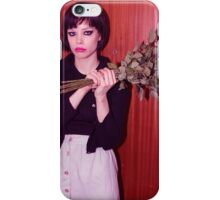 Alice Glass Flowers iPhone Case/Skin