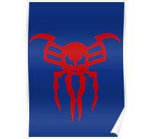 Spiderman 2099 logo Poster