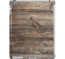 wood texture - wooden background 3 iPad Case/Skin