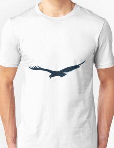 Flying black eagle Unisex T-Shirt