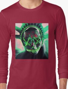 The Purge: Election Year Decal Long Sleeve T-Shirt