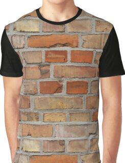 Red wall - brick wall background Graphic T-Shirt