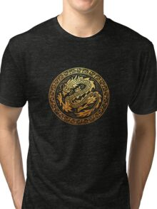 dragon 2 Tri-blend T-Shirt