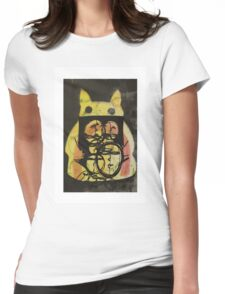 If I was pikachu  Womens Fitted T-Shirt