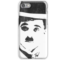 Charlie Chaplin - Leather iPhone Case/Skin