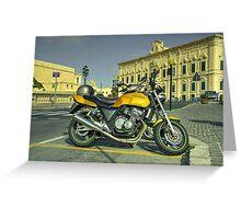 Honda CB400  Greeting Card
