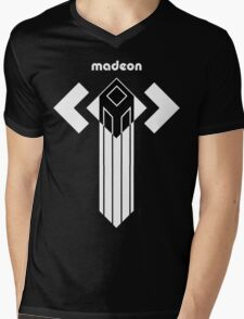MADEON ADVENTURE TOWER Mens V-Neck T-Shirt