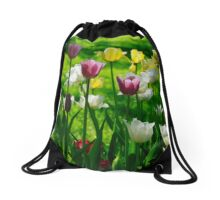 Tulips Drawstring Bag