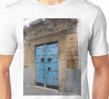 Blue Door in the Souks of Tunis Unisex T-Shirt