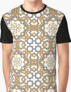 Geometric Pattern - Oriental Star Design  Graphic T-Shirt