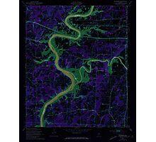 USGS TOPO Map Alabama AL Riverside 304952 1947 24000 Inverted Photographic Print