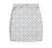Geometric Pattern - Oriental Star Design  Mini Skirt