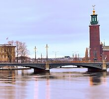 Stockholm City Hall by João Figueiredo