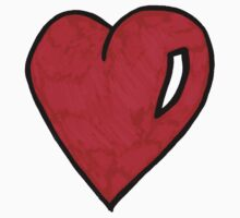Heart One Piece - Long Sleeve