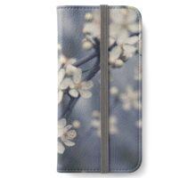 beautiful white cherry flower blossom - cherry tree flower iPhone Wallet/Case/Skin