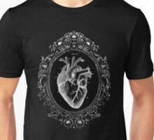 Anatomical Heart in Frame Unisex T-Shirt