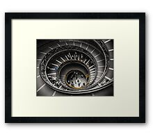 Vatican Museums Spiral Staircase Framed Print