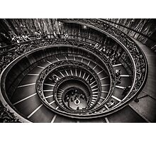 Vatican Museums Spiral Staircase -2 Photographic Print