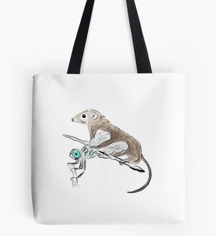 Dragonfly and shrew - the taming of the shrew Tote Bag