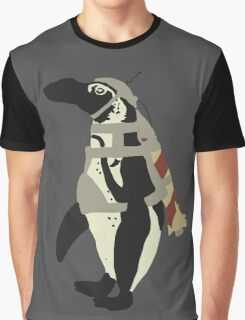 Rocket Penguin Graphic T-Shirt