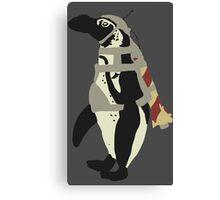Rocket Penguin Canvas Print