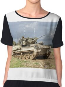 British Army Warrior Infantry Fighting Vehicle Chiffon Top