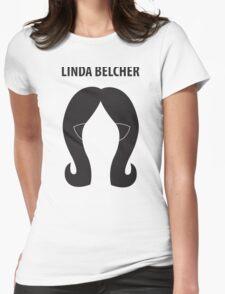 Linda Belcher Minimalist Womens Fitted T-Shirt